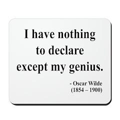 Oscar Wilde 14 Mousepad