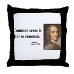Voltaire 11 Throw Pillow
