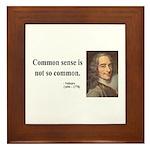 Voltaire 11 Framed Tile