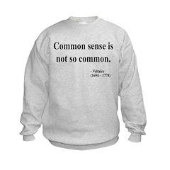 Voltaire Text 11 Sweatshirt