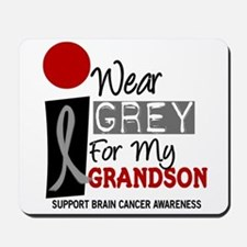 I Wear Grey For My Grandson 9 Mousepad