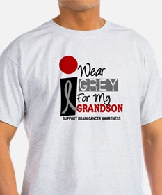 I Wear Grey For My Grandson 9 T-Shirt