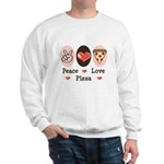 Peace Love Pizza Sweatshirt