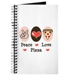 Peace Love Pizza Journal