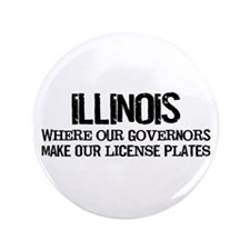 "Illinois Governor 3.5"" Button"