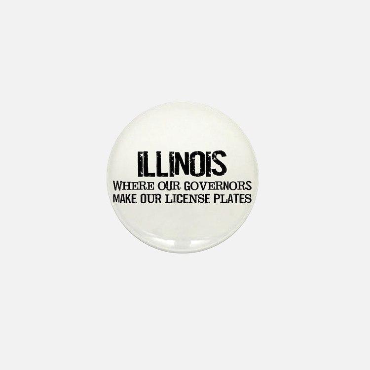 Illinois Governor Mini Button