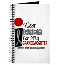 I Wear Grey For My Granddaughter 9 Journal