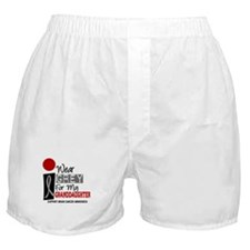 I Wear Grey For My Granddaughter 9 Boxer Shorts