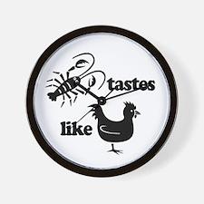 Crawfish tastes... Wall Clock