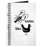 Crawfish tastes... Journal