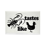 Crawfish tastes... Rectangle Magnet (10 pack)
