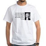 Thomas Jefferson 1 White T-Shirt