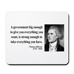 Thomas Jefferson 1 Mousepad