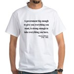 Thomas Jefferson 1 White T-Shirt