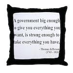 Thomas Jefferson 1 Throw Pillow