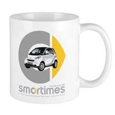 White Smart Car Mug