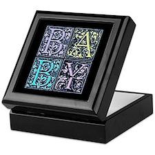 Baby Squared Keepsake Box