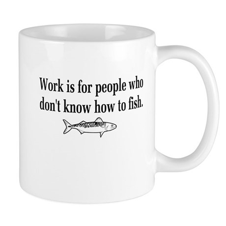 Know how to fish Mug