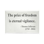Thomas Jefferson 2 Rectangle Magnet (10 pack)