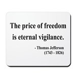 Thomas Jefferson 2 Mousepad