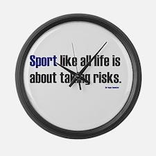 Large Wall Clock- Sport