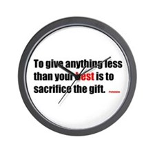 Wall Clock- Prefontaine