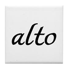 Alto Tile Coaster