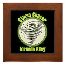 Storm Chaser Logo Framed Tile