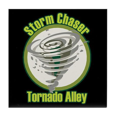 Storm Chaser Logo Tile Coaster