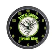 Storm Chaser Logo Wall Clock