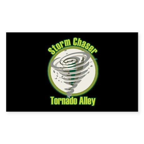 Storm Chaser Logo Rectangle Sticker