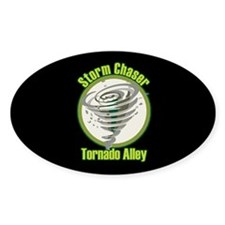 Storm Chaser Logo Oval Decal