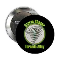 """Storm Chaser Logo 2.25"""" Button"""