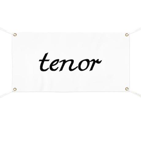 Tenor Banner