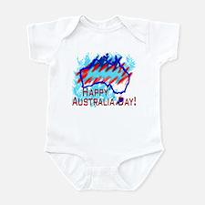 Australia Day Infant Bodysuit