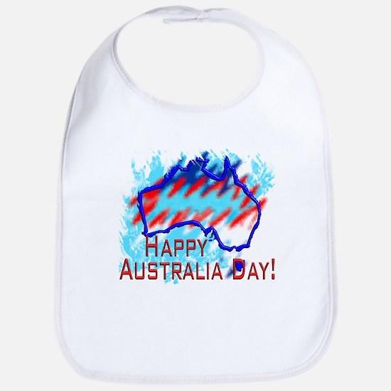 Australia Day Bib