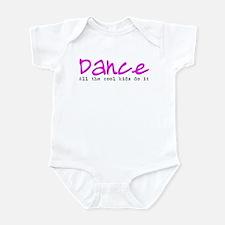 All the Cool Kids Dance Infant Bodysuit