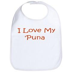 I Love My Puna Bib