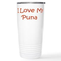 I Love My Puna Travel Mug
