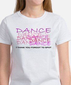 Dancers I think you forgot to Tee