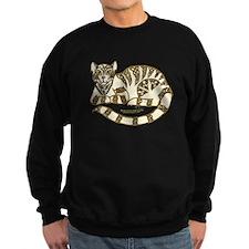 Knot Striped Cream Cat Sweatshirt
