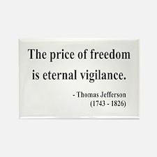 Thomas Jefferson 2 Rectangle Magnet