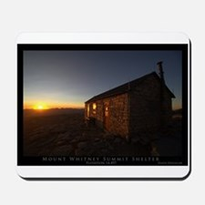 Mt. Whitney Shelter Mousepad