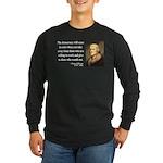 Thomas Jefferson 3 Long Sleeve Dark T-Shirt