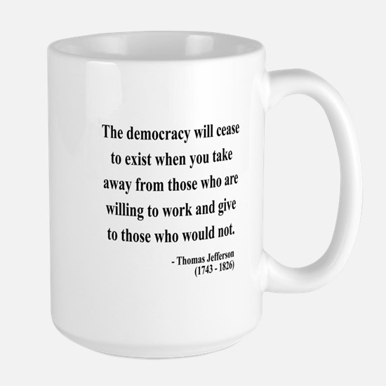 Thomas Jefferson 3 Large Mug