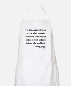 Thomas Jefferson 3 BBQ Apron