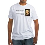Thomas Jefferson 4 Fitted T-Shirt