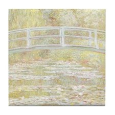 MONET Water Lily Pond 1899 Tile Coaster