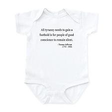 Thomas Jefferson 4 Infant Bodysuit