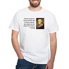 Thomas Jefferson 6 Shirt